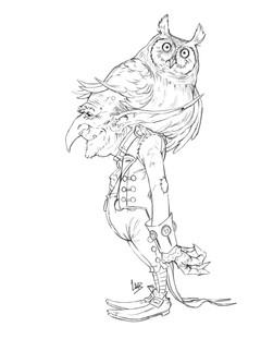 Owl Perch