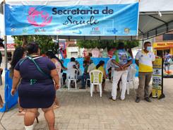 Prefeitura de Canudos realiza testagem em massa para Covid-19