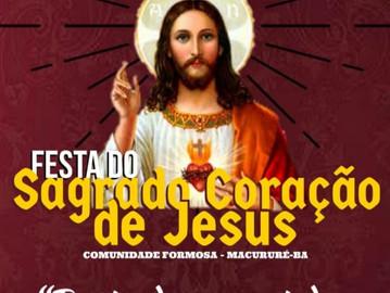 Formosa-BA: Festa do Sagrado Coração de Jesus será de 18 a 21 de julho