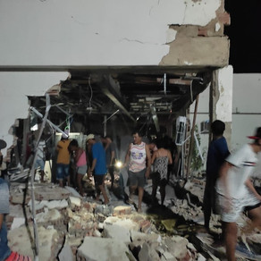 Agência do Bradesco de Chorrochó-BA é explodida por assaltantes, mais uma vez