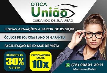 Ótica_União_-_Portal_Formosa_-_Banner_La