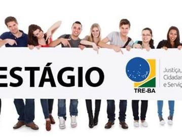 TRE-BA: abertas inscrições para processo seletivo de estágio em nível médio e superior