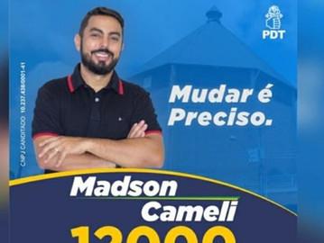 Proposta do candidato a vereador Madson Cameli em relação as cobranças de taxas de serviços urbanos