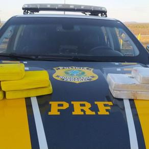 Homem é detido com 10 Kg de cocaína dentro de banco de carro em Cabrobó