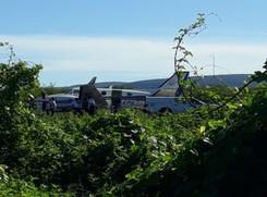 Avião com vacina para Covid-19 bate em jumento em pista de pouso na Bahia
