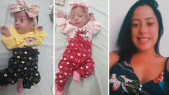Jovem dá à luz gêmeas, contrai Covid-19 e morre sem conhecer as filhas no litoral de SP