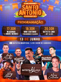 Live: Batista Lima, Ney Alves, Nino Coutinho, Waguinho Silva, Ricardinho e Glaucia, André Mendes