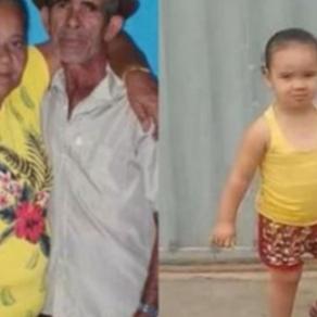 Criança e avós são encontrados mortos dentro de casa; Pai da menina é o principal suspeito