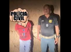 Delegado Bacelar prende homem que o esfaqueou em 2013, no município de Glória-BA; Assista o vídeo!