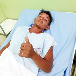 """LOCALIZADO o Jovem que pulou do caminhão entre Formosa e Bendegó; """"Pensei que iria morrer"""""""