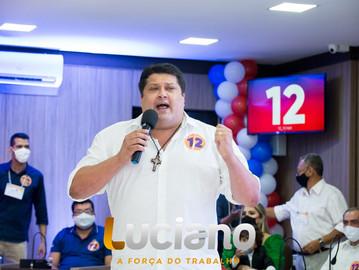 Luciano Pinheiro é reeleito prefeito de Euclides da Cunha