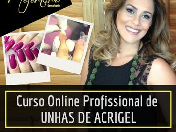 Curso Online Profissional de Unhas de Acrigel; Clique aqui e veja todos os detalhes