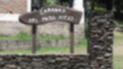 cartel de entrada