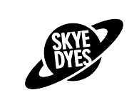 Skye Dyes Black and White Logo