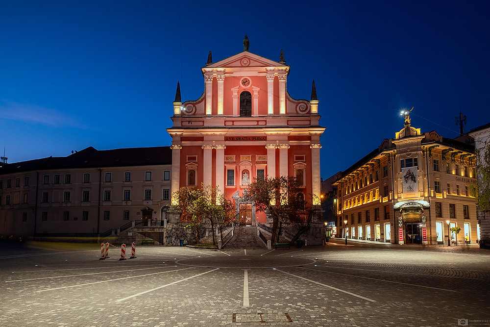 Franciscan church of Ljubljana