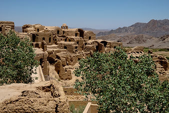 Kharanaq village in Iran