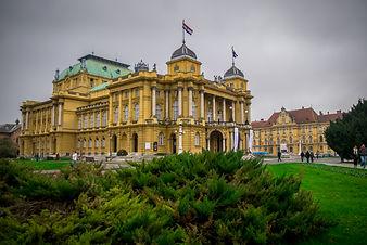 Zagreb main theatre