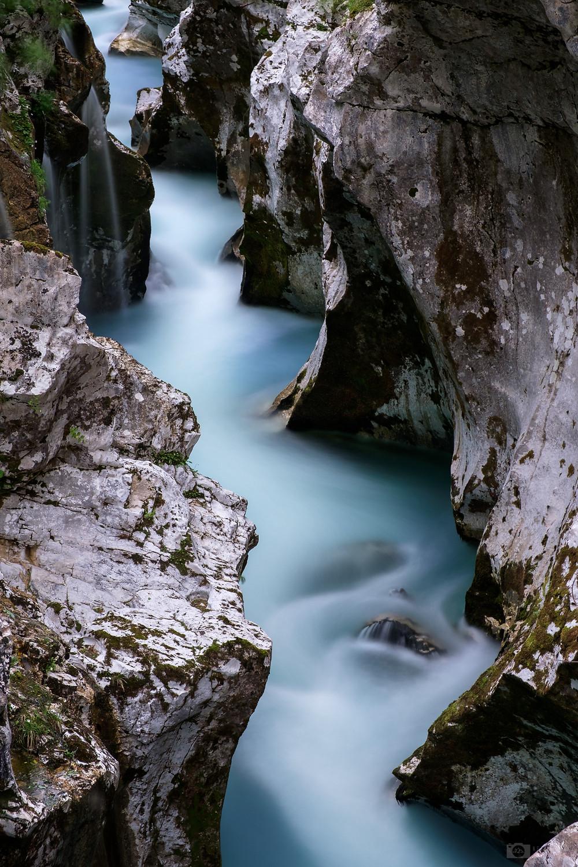 Great gorge of Soča
