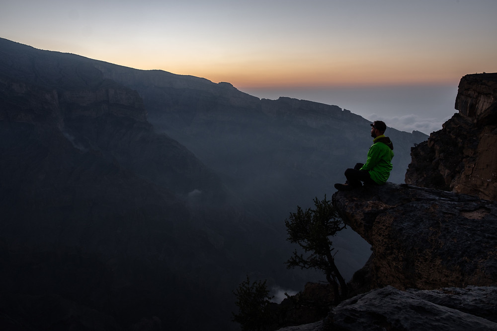 Morning above Wadi Ghul, Oman