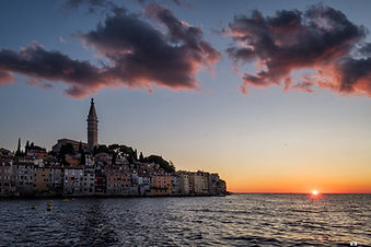 Rovinj at sunset