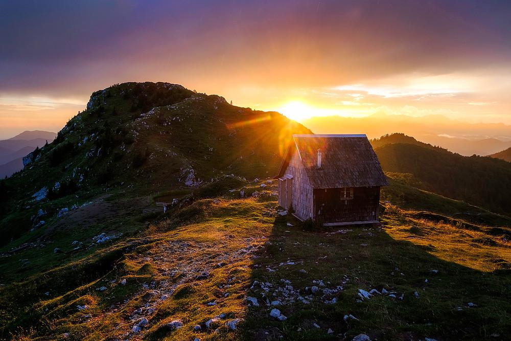 Ratitovec sunset