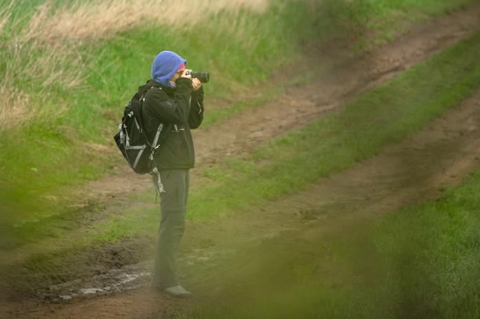 Photographer in Moravia