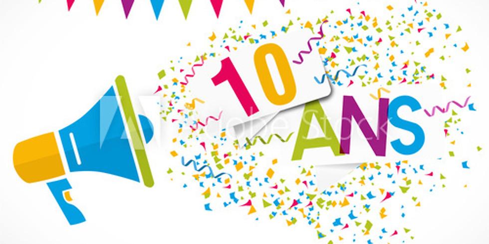 Les 10 ans des Boukans