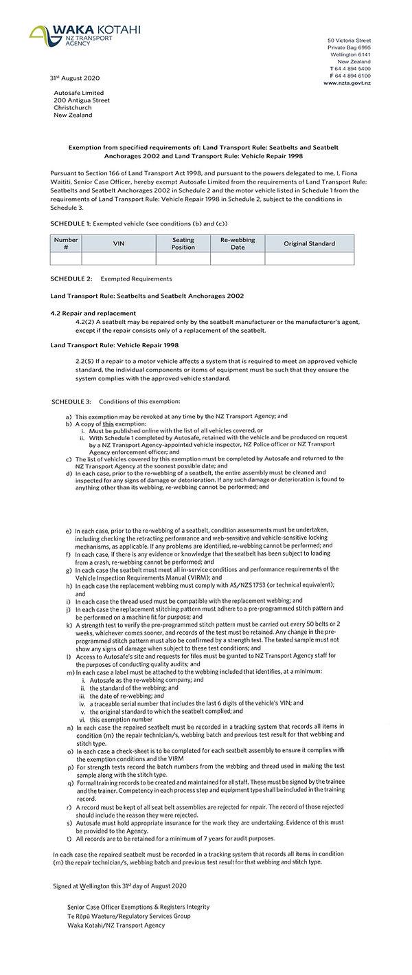 NZTA exemption letter updated.jpg