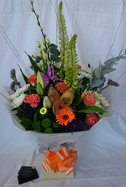 Carnival hand tied