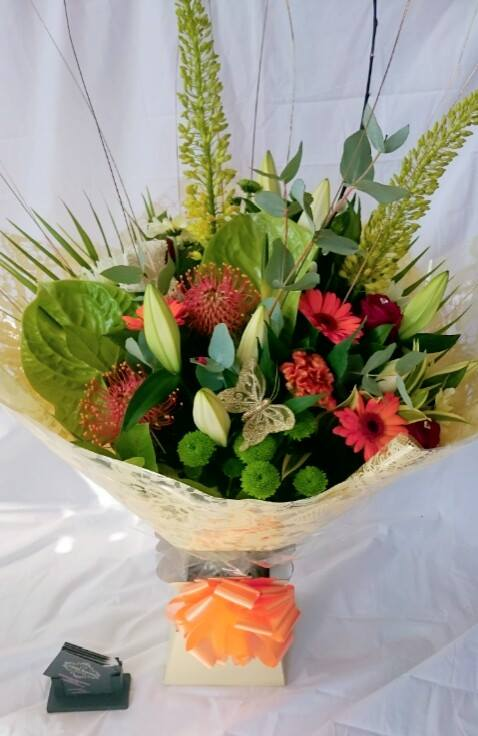Exquisite Autumn hand tied