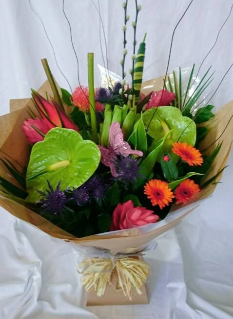 Tropical Princess hand tied