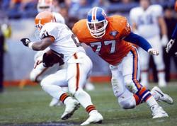 Karl Mecklenburg - Denver Broncos