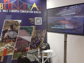 Blumenau e Vale Europeu Convention & Visitors Bureau participa de Feira de Negócios Turísticos