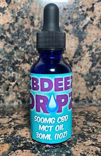 500mg MCT Oral Dropz