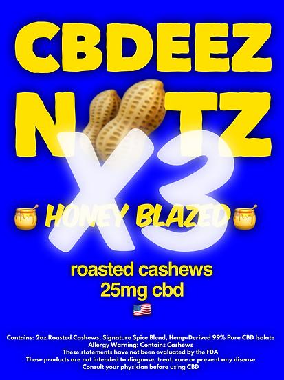 3-Piece Honey Blazed