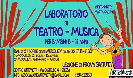 teatro musica per bambini 2019 2020 b co