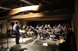 orchestra in granaio