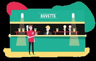 FYVE_Illustrations Fyve Akademy-Buvette.