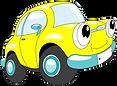 Little yellow car