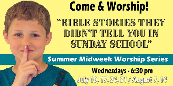 6-Week Summer Worship Series