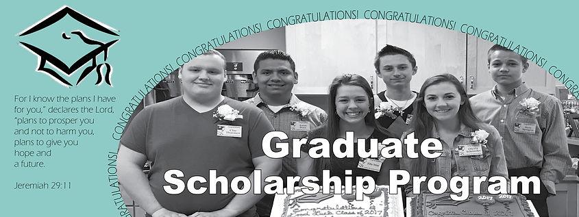 2019 PLC - Graduate Scholarship Web Bann
