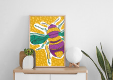 Poster%20on%20Cabinet%20Mockup%20bees_ed