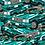 Thumbnail: Hong Kong Green Taxi Pattern Print