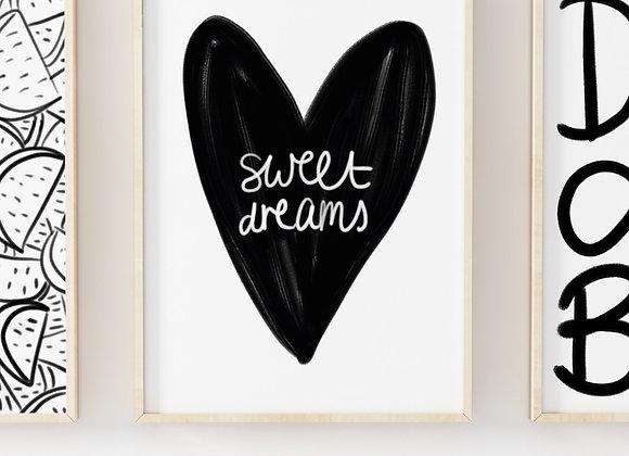 Sweet Dreams Poster Print