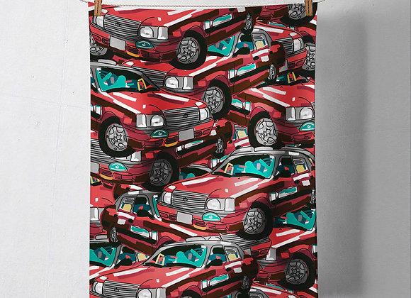 Pre-Order Red Taxi Tea Towel
