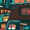 Thumbnail: Hong Kong Minibus Street Poster Print