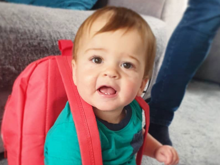 Five Lessons I learnt from Jacob's first week in Nursery during a Pandemic