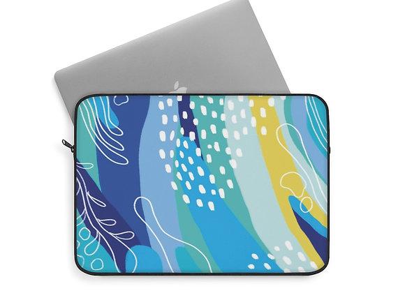 Blue Moonlight Laptop Sleeve