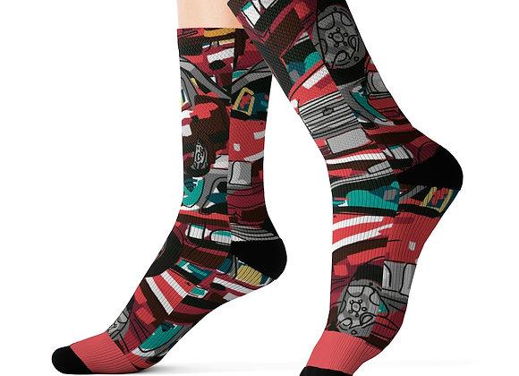 Hong Kong Taxi Socks