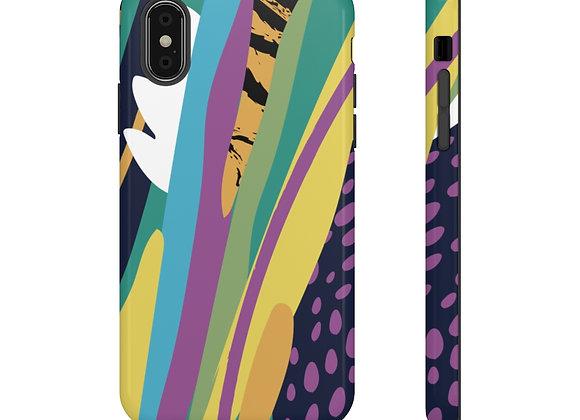 Neon Jungle Tough Phone Case
